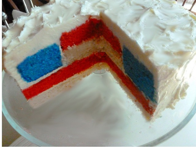 Fourth of July Cake 1