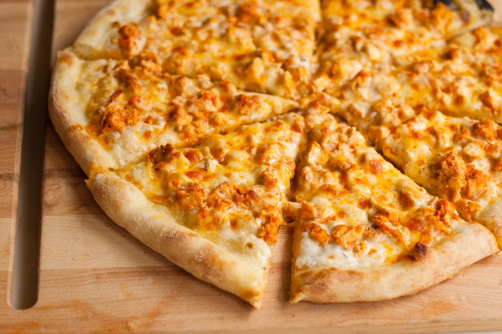 Buffalo Chicken Pizza-1