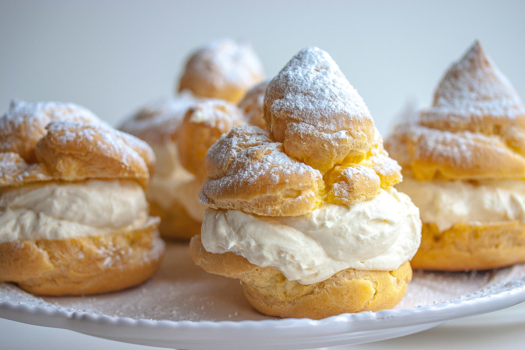 Do you like cream puffs? Until a few months ago, cream puffs didn't ...