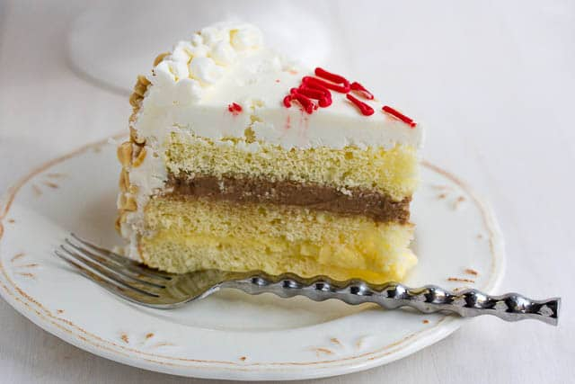Italian Rum Birthday Cake Recipe