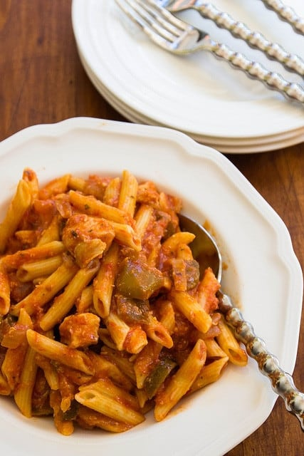 chicken pepper penne