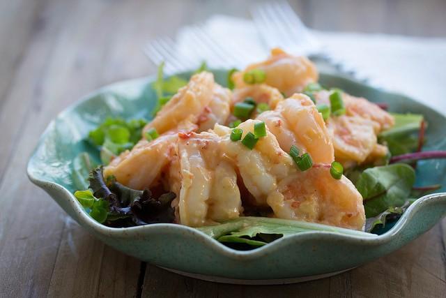 healthier bang bang shrimp