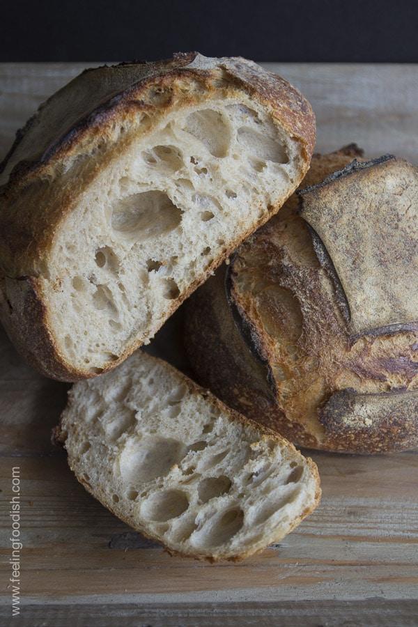 tartine bread crumb | Feelingfoodish.com