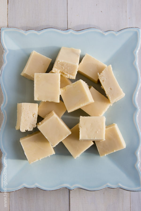 Old fashioned vanilla fudge| Feeling Foodish