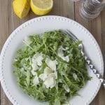 arugula salad | FeelingFoodish