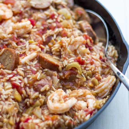 Wow, this Savannah red rice is amazing! A new favorite | FeeliingFoodish.com