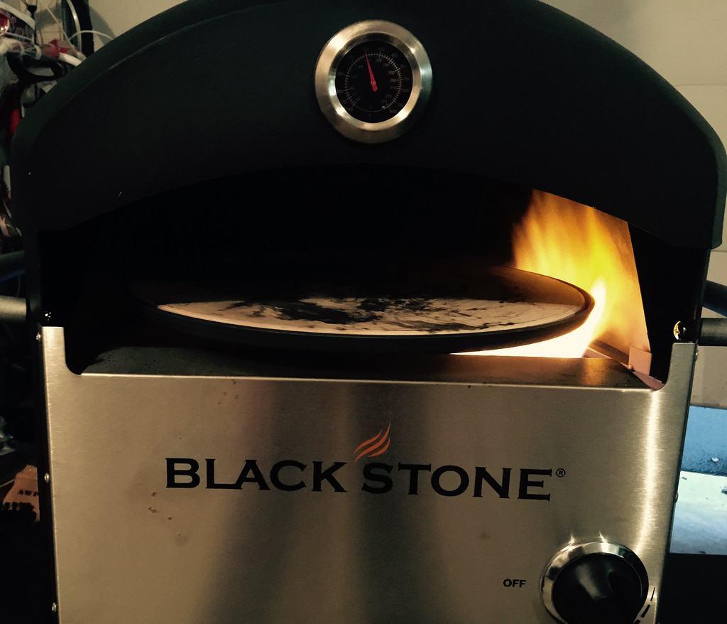 Blackstone pizza oven