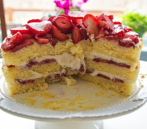 Italian Strawberry Shortcake Feeling Foodish