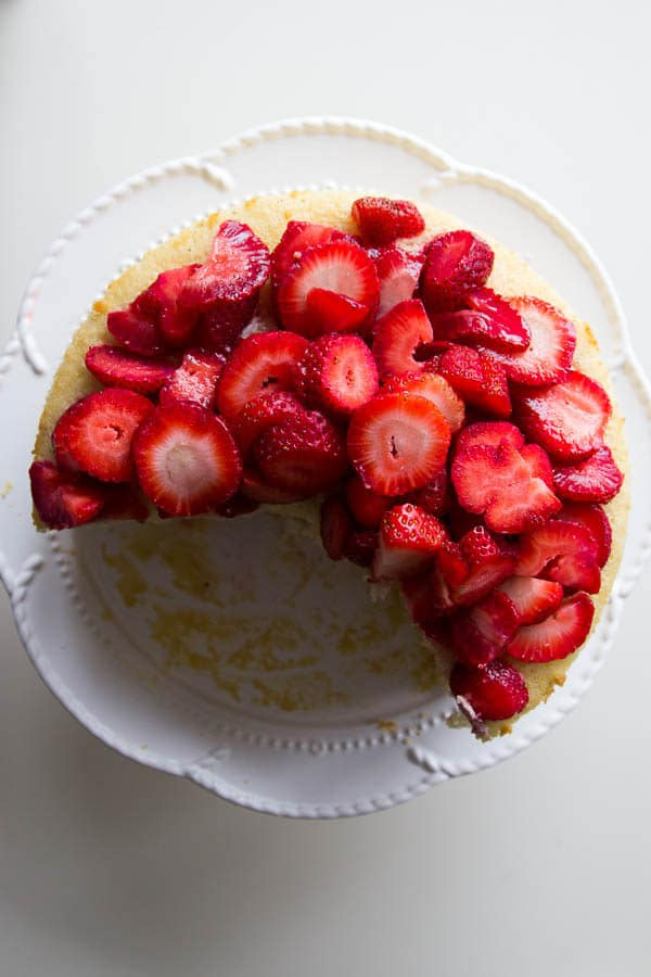 top strawberry shortcake cassata
