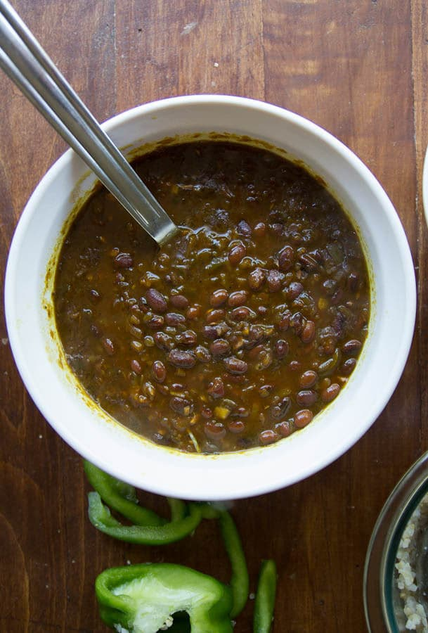 amazing cuban black bean recipe
