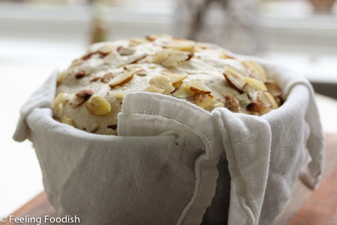 New Zealand Almond and Fig Bread | Feeling Foodish