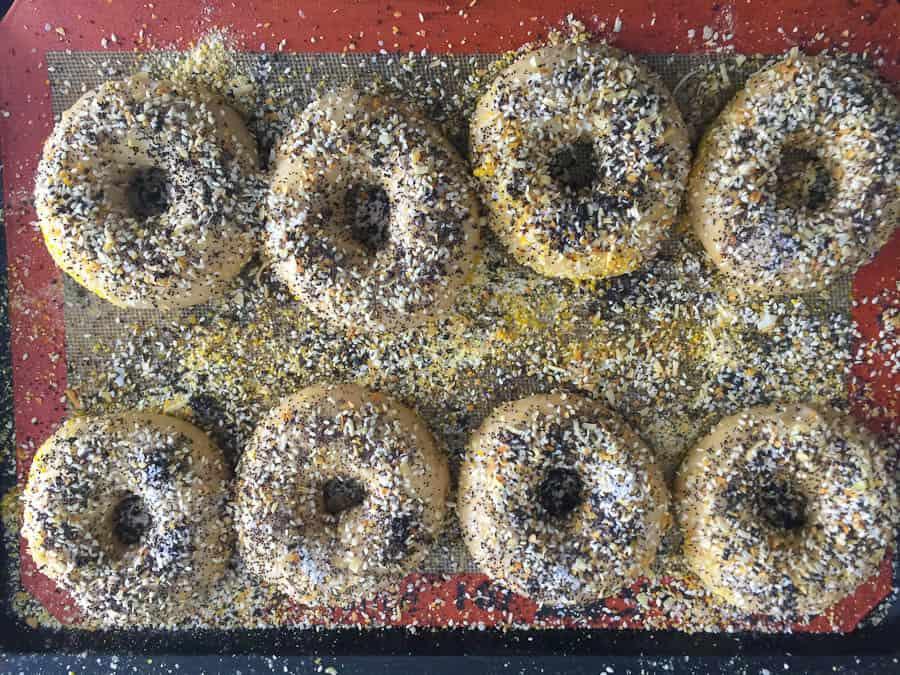 NY Bagels before baking