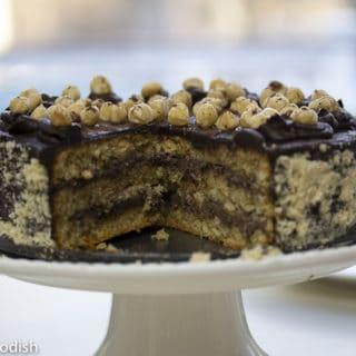 My favorite torte - hazelnut chocolate torte