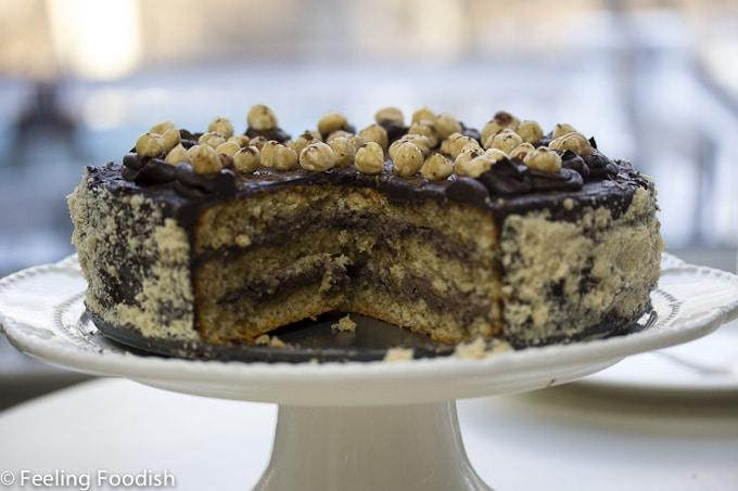 My favorite torte - chocolate hazelnut torte