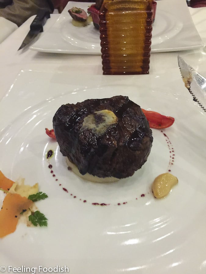 Carnival Pride Steakhouse Filet