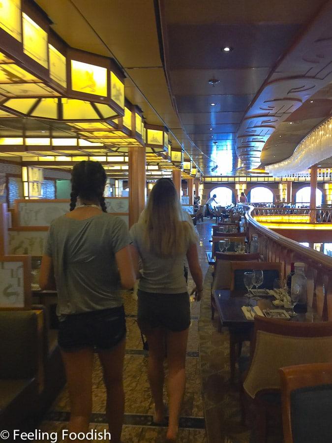 Main Dining Room Carnival Pride Ship