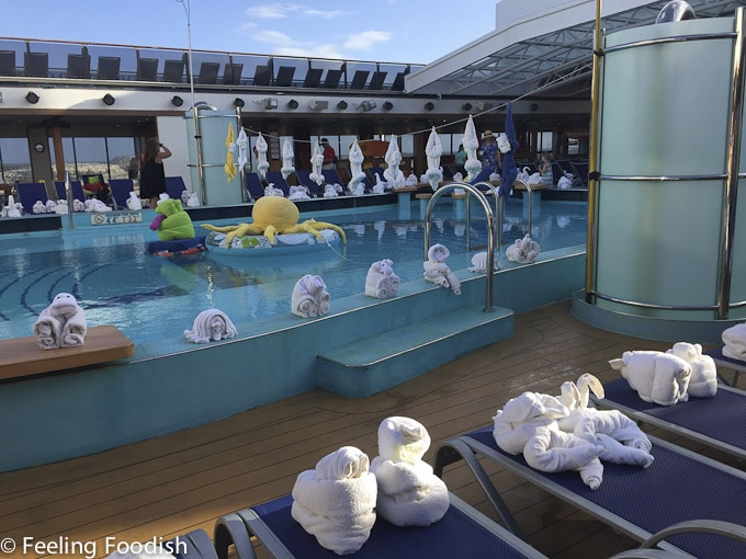 Cloudy morning on Carnival Pride